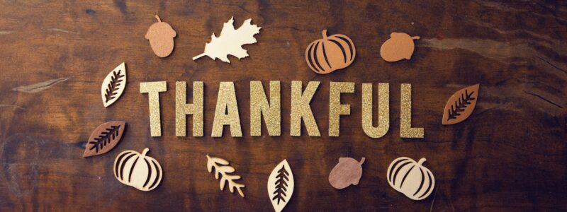 Are You Thankful In 2020?